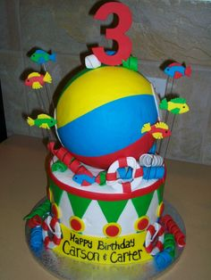 beach birthday cakes - Bing Images