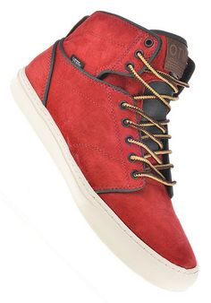 planetsports Vans Alomar Red | Boots, Vans, Timberland boots