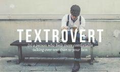 Textrovert.