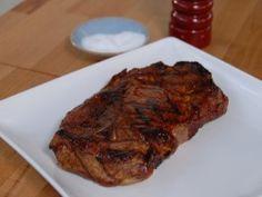 Grilled Pork Shoulder Steak is part of Shoulder Steak recipes - Cooking Channel serves up this Grilled Pork Shoulder Steak recipe plus many other recipes at CookingChannelTV com Pork Shoulder Blade Steak, Grilled Pork Shoulder, Boneless Pork Shoulder, Blade Steak Recipes, Grilled Steak Recipes, Grilling Recipes, Pork Recipes, Barbecue Recipes