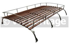 Roof Rack, T2, 4 bow, stainless steel, 200cm Foot to Foot