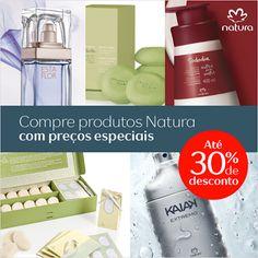 Compre online seus produtos Natura favoritos e aproveite os descontos especiais da semana.  Produtos Natura Até 30% de desconto. http://rede.natura.net/espaco/Brotherj