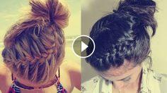 Tepeden Burgulu Saç Örgüsü Nasıl Yapılır,braid,hairstyle,braids styles,hair braid styles,braid hairstyles,braiding hairs,braid tutorials,braid review,braid video