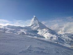 Matterhorn / Monte Cervino / Mont Cervin in Zermatt