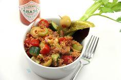Bloody Mary Quinoa Salad via @mis