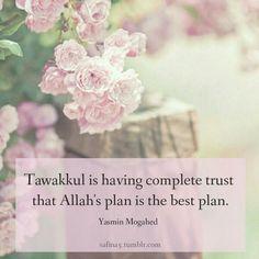Allah's plan is the best plan! #Allah #Tawakkul #Islam