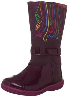 Buy New: £23.40 - £29.80  (UK & Ireland) -: Shoes: Agatha Ruiz De La Prada Alia #Girls #Knee high #boots