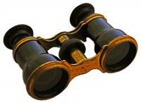 Lincoln's opera glasses are up for auction. Current high bid is $252,582.00