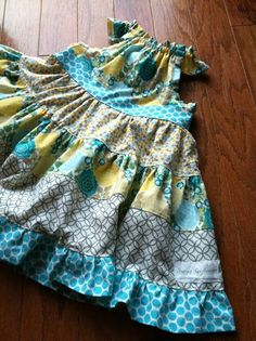Turn Brownie Goose Nelle pattern into a twirly dress.
