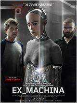 Ex Machina de Alex Garland avec Domhnall Gleeson, Alicia Vikander, Oscar Isaac. Synopsis : Caleb, brillant codeur de l'entreprise BlueBook, remporte un séjour d'une semaine dans la résidence du grand patron. Il découvre qu'il va devoir participer à une expérience troublante : interagir avec une nouvelle intelligence artificielle, sous la forme d'une très jolie femme robot prénommée Ava… http://www.allocine.fr/film/fichefilm_gen_cfilm=219931.html