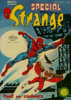 Les revues Lug de la Collection Super-Héros du mois de juin 1979