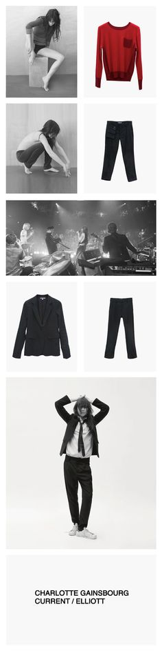 Charlotte Gainsbourg Current Elliott colleccion en Arropame...