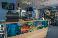 Optical Ocean Sales Retail Store. Read about our new store, get tips and information about underwater photography!