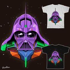 mash up of Evangelion and star wars