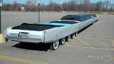Weird cars - from the past, nowadays to concept and future automobiles, motorbikes Grand Torino, Cadillac Fleetwood, General Lee, Cadillac Eldorado, Weird Cars, Cool Cars, Crazy Cars, Dodge, Limousine Car