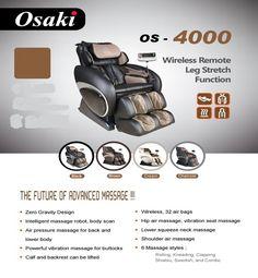 Osaki OS   4000 Massage Chair. The Best Prices On Osaki, Titan U0026 Apex