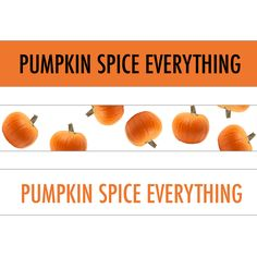 Pumpkin Spice Hair Ties Pack