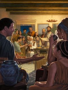 Trace the development and importance of meeting for worship. When did Jehovah's Witnesses begin the Theocratic Ministry School and other Bible study meetings? Meaningful Pictures, Bible Games, Study Pictures, Biblical Art, Early Christian, Fathers Love, Jehovah's Witnesses, Bible Stories, Bible Studies