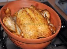Pui la cuptor in vas roman Martha Stewart, Lasagna, Carne, Roman, Turkey, Food, Turkey Country, Essen, Meals