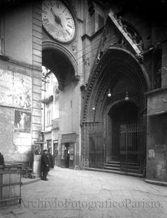 Napoli antica, Sant'Eligio, 1930