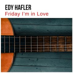 """""""Friday I'm in Love"""" by Edy Hafler added to Acoustic Covers Soft and Calm   Relax Study Concentrate and Meditate with cover of popular songs playlist on Spotify Game Of Thrones Theme, Friday Im In Love, Wonderful Tonight, Moonlight Sonata, Auld Lang Syne, Acoustic Covers, Song Playlist, Stand By Me, Acoustic Guitar"""