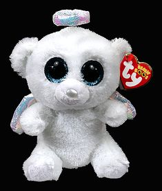 *Ty Beanie Boos*   Type: Bear Name: Halo Birthday: June 19th Introduced: January 2, 2014 Retired: