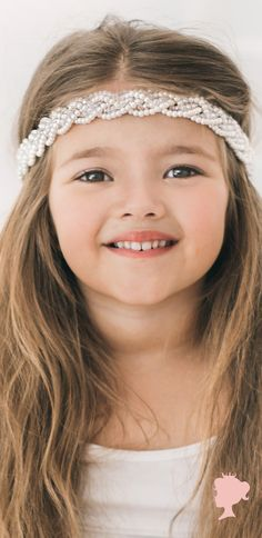 """Shop the essential Sienna Like to party Accessories online.  Our new edit """"The Must List"""" are all of our famous styles from our luxury childrens accessories collections. #siennalikestoparty #love #hairaccessories #boho #flowergirl #luxekids #pretty #princess #cutekids #princess"""