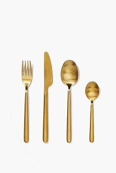 Nolan Gold 16 Piece Cutlery Set