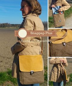 """Überschlagtasche nähen aus """"Snappap Plus"""""""