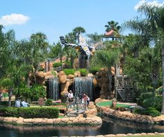 Congo River Mini Golf, Kissimmee, FL - America's Wackiest Mini-Golf Courses Congo River, Adventure Golf, Attractions In Orlando, Visit Orlando, Crazy Golf, Miniature Golf, Travel And Leisure, Disney Trips, 3 D