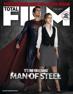 Man Of Steel- Henry Cavill and Amy Adams