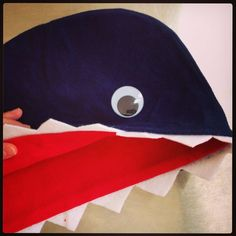 DIY Shark Costume! So easy.