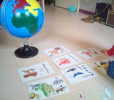 Nos débuts en Géographie façon Montessori
