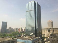Shanghai: 12-17 aprile 2016, panorama dall'hotel Sheraton