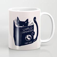 World Domination For Cats Mug