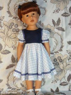 Платье на кукол Гётц ростом 50см / Одежда для кукол / Шопик. Продать купить куклу / Бэйбики. Куклы фото. Одежда для кукол