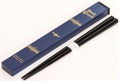 navy blue book Bento chopsticks from Japan 1