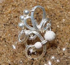 Sterling Silver Wire Wrap Ring by wirewrap on Etsy, $42.00