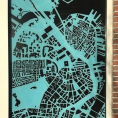 """Window map of #Boston."" by mapdragons"