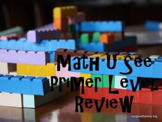 Welcome to Our Good Life: Math U See Primer Review