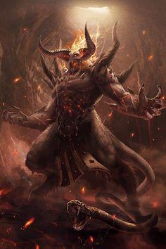The beast by hell house în 2019 demon art, fantasy monster și mo Dark Fantasy Art, Fantasy Demon, Fantasy Artwork, Demon Artwork, Monster Art, Fantasy Monster, Creature Concept Art, Creature Design, Fantasy Character Design