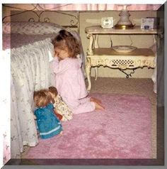 little girls beds  | Confessions of a Catholic Mom: Bed Time Prayers...