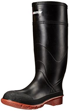 online shopping for Baffin Men's Tractor Industrial Rubber Boot from top store. See new offer for Baffin Men's Tractor Industrial Rubber Boot Best Waterproof Boots, Fishing Boots, Fly Fishing, Hiking Shoes, Leather Sandals, Leather Men, Black Boots, Sneakers Fashion, Rubber Rain Boots