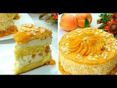 Tort cu fructe și brânză proaspătă- un deliciu ideal pentru copiii dumneavoastră! - YouTube