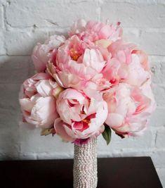 bouquet de pivoines, bouquet simple et joli