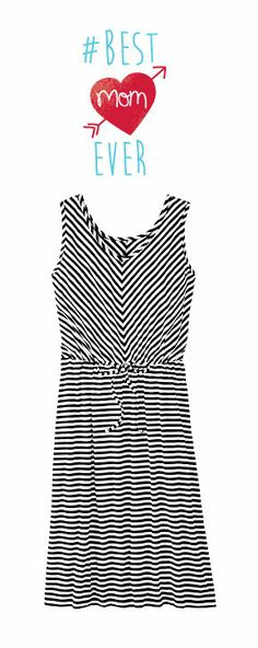 Mother's Day Gift Guide   Seeing Stripes Dress now $68    Pin this *or anything from our site!* and tag us @Hanna Andersson Andersson with the hashtag #BestMomEverContest to win a $250.00 gift card.