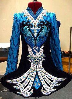 **Celtic Star**Irish Dance Solo Dress Costume**