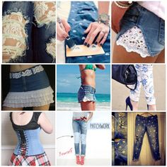 "<input class=""jpibfi"" type=""hidden"" >Jeans are one of the favorite pieces of clothing for all of the girls, and all at home at least one pair of jeans that are old but that was your favorite but now it may be too old or out-dated. If they still fit you, and aren't too worn out, chances are you can…"
