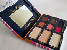 Icy Nails: Too Faced A` La Mode Eyes Sexy St. Tropez Eye Shadow Collection Palette
