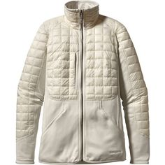 Patagonia Hybrid Down Jacket - Women's Raw Linen